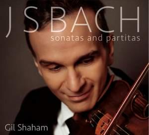Bach, J S: Sonatas & Partitas for solo violin, BWV1001-1006 Product Image