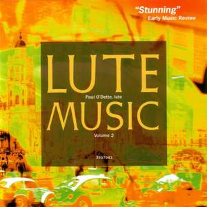 Lute Music, Volume 2: Early Italian Renaissance Music