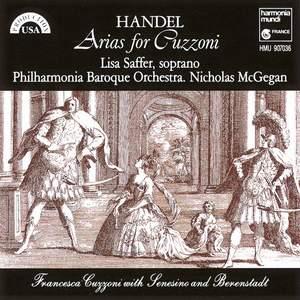 Handel: Arias for Cuzzoni