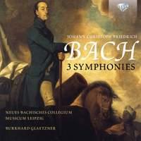 JCF Bach: 3 Symphonies