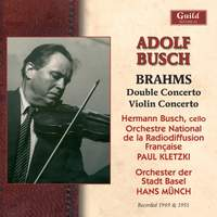Brahms: Double Concerto & Violin Concerto
