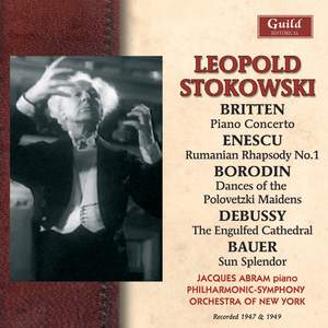 Leopold Stokowski conducts music by Britten, Enescu and others