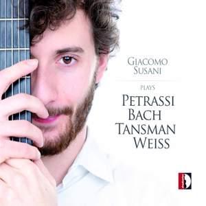 Giacomo Susani plays Petrassi, Bach, Tansman & Weiss Product Image