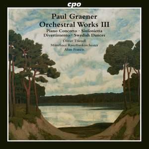 Paul Graener: Orchestral Works Vol. 3 Product Image