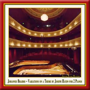Brahms: Variations on a theme by Haydn for two pianos, Op. 56b 'St Anthony Variations' Product Image