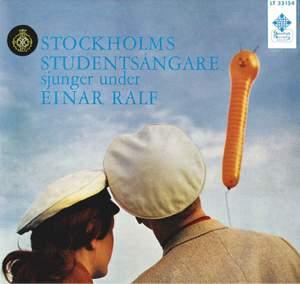 Stockholms studentsångare sjunger under Einar Ralf