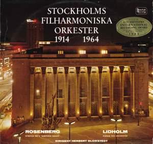 Lidholm: Poesis & Rosenberg: Symphony No. 2