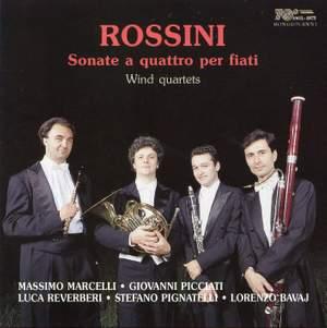 Rossini: Sonate a quattro per fiati