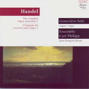 Handel: The Complete Organ Concertos, Vol. 1