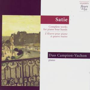 Satie: Complete works for piano four hands