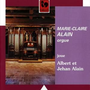Marie-Claire Alain plays Albert & Jehan Alain