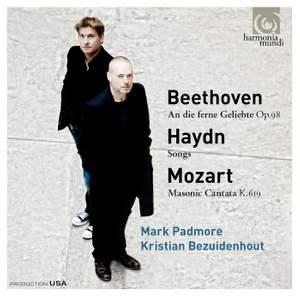 Mark Padmore sings Beethoven, Mozart & Haydn