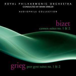 Bizet: Carmen Suites 1 & 2 - Grieg: Peer Gynt Suites 1 & 2