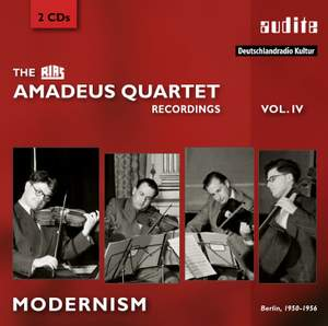 The RIAS Amadeus Quartet Recordings Vol. 4: Modernism