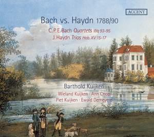 Bach versus Haydn 1788/90