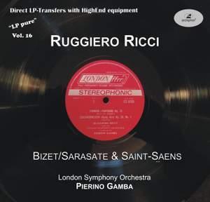 Ruggiero Ricci Plays Bizet, Sarasate & Saint-Saëns: LP Pure, Vol. 16 Product Image
