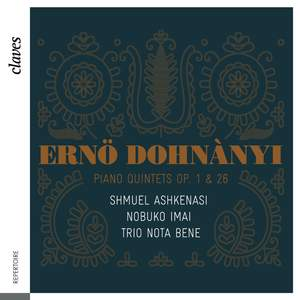 Dohnányi: Piano Quintets Op. 1 & 26 Product Image