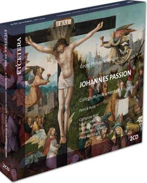 Telemann: Johannes Passion, TWV 5:30 Product Image