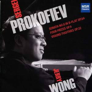 Prokofiev: Piano Sonata No. 8, Four Pieces & Visions Fugitives