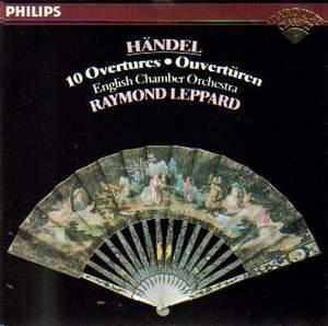 Handel: 10 Overtures