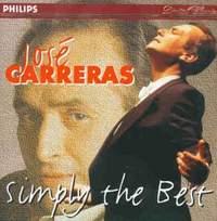 José Carreras: Simply the Best