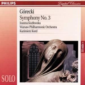 Gorecki: Symphony No. 3, Op. 36 'Symphony of Sorrowful Songs'