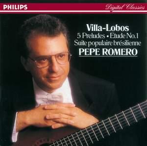 Villa-Lôbos: Five Preludes