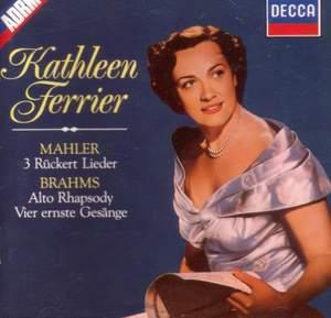 Kathleen Ferrier sings Mahler & Brahms