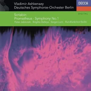 Scriabin: Symphony No. 1 & Prometheus Product Image