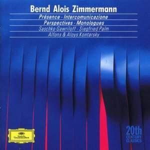 Bernd Alois Zimmermann: Chamber Music