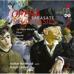 Sarasate: Opera Phantasies Vol. 2
