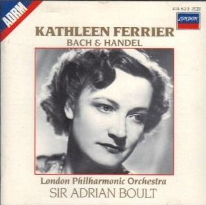 Kathleen Ferrier sings Bach and Handel