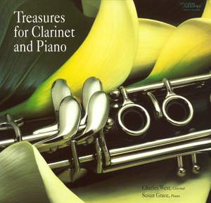 Treasures for Clarinet & Piano Product Image