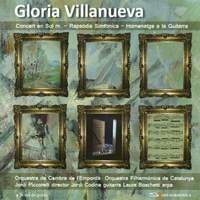 Villanueva: Concerto in G, Rapsòdia Simfònica, Homenatge a la Guitarra