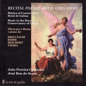 Briccialdi, Böhm, Reichert & Vieira: Works for flute and piano Product Image
