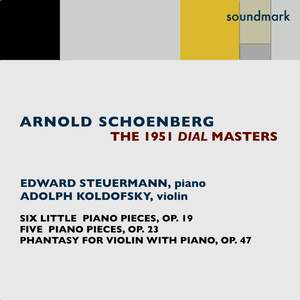 Schoenberg: Works for Piano and Violin