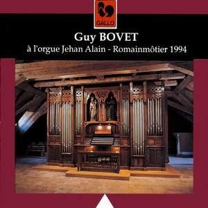 Guy Bovet à l'orgue Jehan Alain de Romainmôtier Product Image