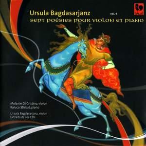Bagdasarjanz: Sept poésies pour violon et piano – Mozart, Handel, Nardini & Paganini: Sonatas Product Image