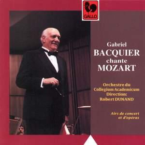 Gabriel Bacquier chante Mozart