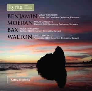 British Violin & Cello Concertos