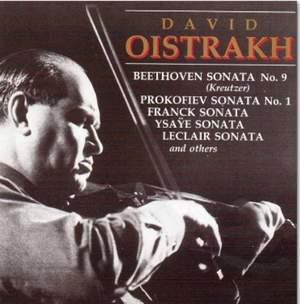 David Oistrakh plays Sonatas, Duos & Solos