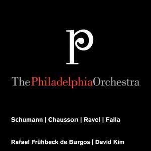 Schumann - Chausson - Ravel - Falla