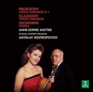 Glazunov & Prokofiev: Violin concertos