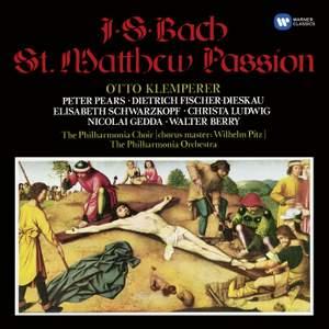 J S Bach: St Matthew Passion