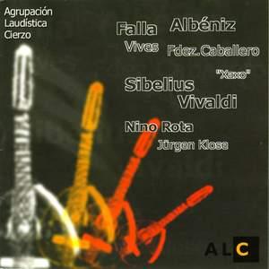 Guitar Ensemble Works - Vivaldi, de Falla, Albeniz, etc.