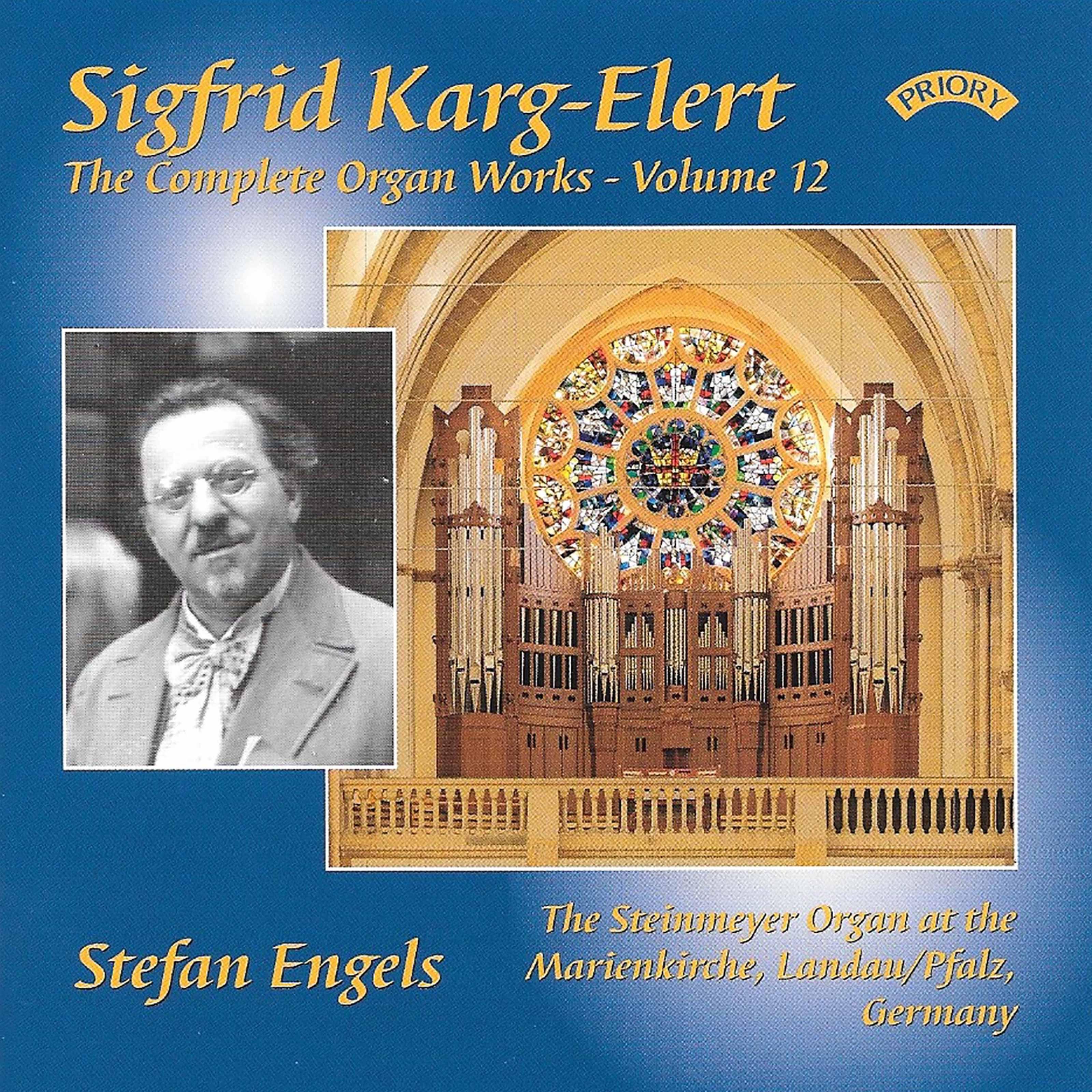 Karg-Elert Complete Organ Works Vol. 12