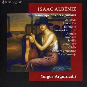 Isaac Albéniz: Transcripcions per a guitarra