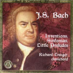 JS Bach: Inventions, Sinfonias & Little Preludes