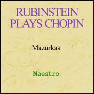 Rubinstein plays Chopin - Mazurkas