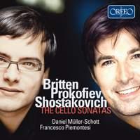 Britten, Prokofiev, Shostakovich: The Cello Sonata